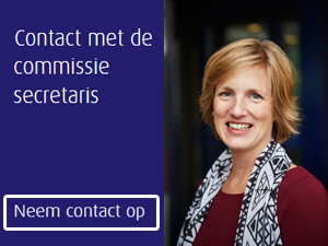 Contact met de commissiesecretaris